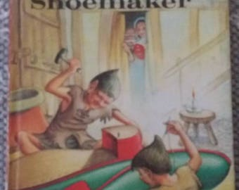 The elves and the shoemaker. Ladybird books 606D Well loved tales by Vera Southgate. Good condition apart from slight by.ped corners.