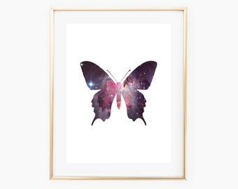 Butterfly Printable, Butterfly Wall Art, Butterfly Print, Butterfly Design, Butterfly Download, Butterfly Decor, Butterfly Nursery