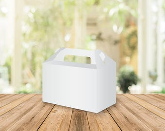 Printable Blank Gable box, Wedding favors, Bridal shower favors, custom wedding favor, personalized favors, wedding favours, party favors