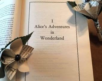 Alice in Wonderland Boutonnieres