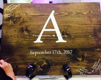 Wedding Guest Book Board, Wedding Guest Book Sign, Guest Book Board, wedding Signature Board, Wedding Guest Book