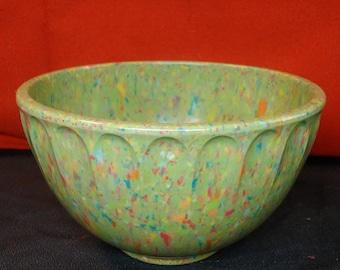 Boonton Confetti Scalloped Melmac Bowl
