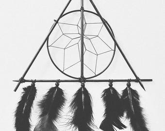 Custom Made To Order Harry Potter Deathly Hallows Dream Catcher