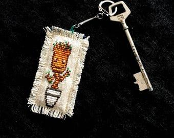 """Baby Groot"" keychain"