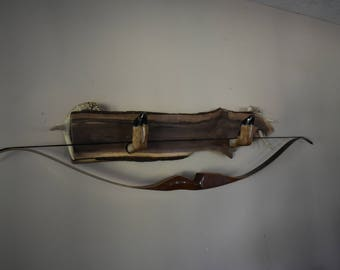 Custom Wood Slab Bow/Gun Holder