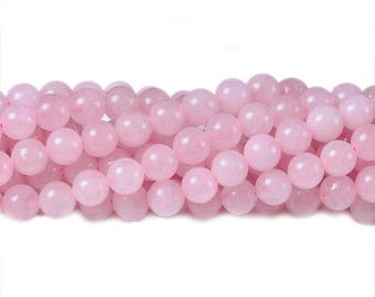 8 mm rose quartz beads round rose quartz gemstone rose quartz stones wholesale gemstone natural rose quartz smooth rose quartz pink quartz