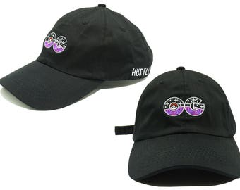 Purple OG Kush Pokémon GO Dad Hat Baseball Cap (black) - HUSTLEPARIS Fashion embroidery Cap