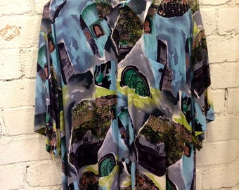 Novelty / Loud 90s Party Shirt