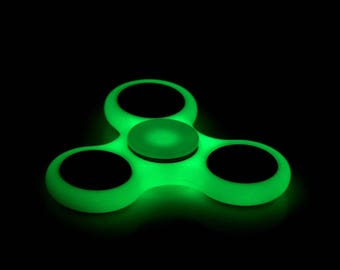 New figet spinner Glow IN THE Dark stress toy kids adult ADHD stress relief