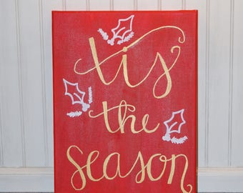 Tis the Season canvas