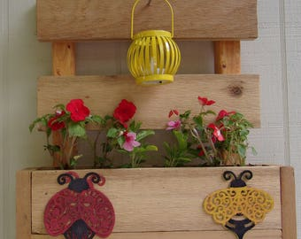 Small Pallet Planter