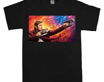 star lord guardian galaxy tshirt
