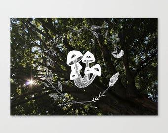Large Scale Print Wreath #1