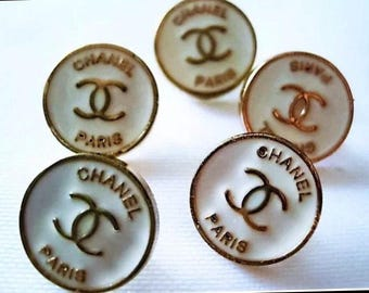 Chanel buttons set of 4