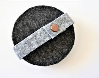 Circle Felt Coasters, Drink Coaster, Felt Coaster Set, Table Protector, Cup Placemat