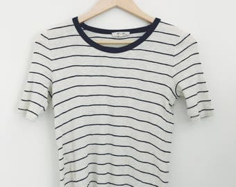 Vintage Madewell fitted striped tee
