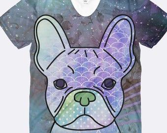 Frenchie Shirt, French Bulldog Shirt, Dog Mom Shirt, Dog Shirt, French Bulldog Clothing, I Love My Dog, Ladies Shirt, Womens Shirt
