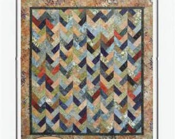 Braids on Parade Quilt Pattern by Carolyn Griffin - Far Flung Quilts #FFQ018 - A 2.5 Inch Strip Quilt - Jelly Roll Friendly Quilt Pattern