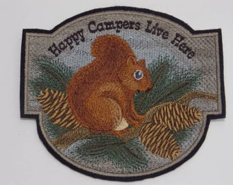 Outdoor Iron-On Patch. Embroidered Patch. Sew-on Patch. Glue-on Patch. Camping Lovers Patch. Home Away from Home collection