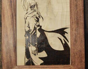 Edward Elric Portrait - Pyrography Art