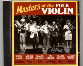 Masters of the Folk Violin CD