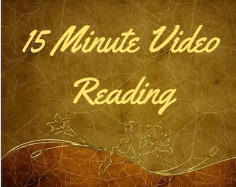 15 Minute Video Tarot Reading