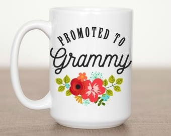15 oz Promoted to Grammy Mug