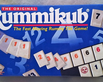 1997 Rummikub Game Complete Excellent Condition FREE SHIPPING