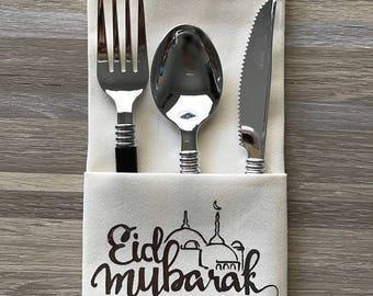 Eid Dinner Napkins Set of 12
