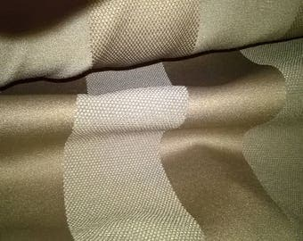 Jacquard upholstery fabric large Brown strips