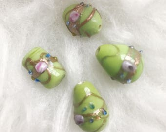 Beautiful Vintage Lampwork Beads
