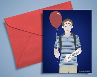 Dear Evan Hansen musical birthday card printable, print yourself, digital download