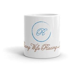 Racing Wife Racing Life Logo Mug