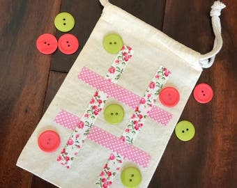 Tic Tac Toe Travel Game Calico Design