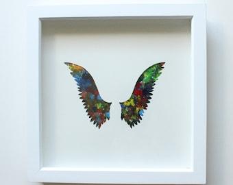 Chakra angel wings