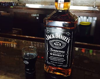 Shot Glasses made from Repurposed JACK DANIELS WHISKEY Bottles