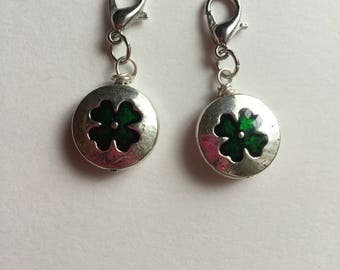 Four Leaf Clover Charm | Four Leaf Clover Progress Keeper