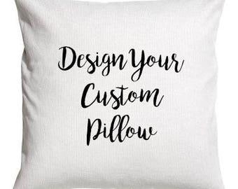 Custom pillow cover, custom pillow cover set,  custom text pillow cover pillow case pillow cover