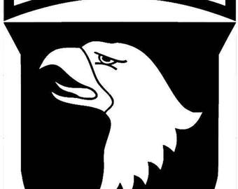 101st Airborne screaming eagle Army vinyl decal sticker