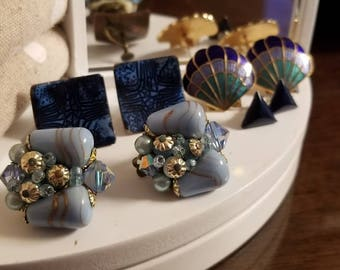 Various earrings from Various decades