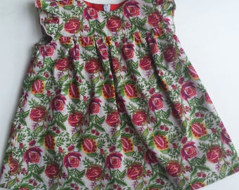 "Sommer cotton dress ""Flory"""
