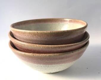 Wheel thrown Ceramic Bowls | FREE SHIPPING