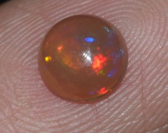 0.65 Carat Oval Shape Opal Natural Ethiopian Welo Multi Fire Opal Cabochon Gemstone Ethiopian Opal Fine Quality On Lowest Price B0012
