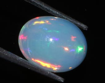 1.50 Carat  Ethiopian Opal Cabochon , 6x9 MM Opal Gemstone, Natural Ethiopian Opal Cabochon, Ethiopian Opal Gemstone, Lowest Price Video S27