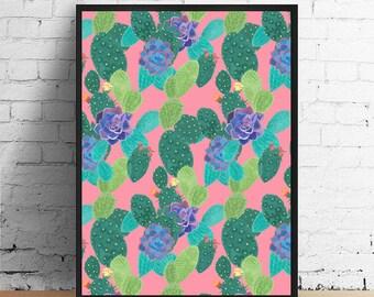 Cactus Artist Print