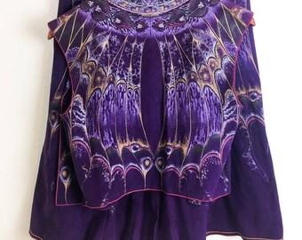 VTG Roberto Cavalli Leather Skirt Vest Set