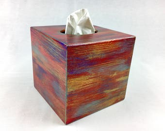 tissue box cover kleenex box cover wooden tissue box holder home decor