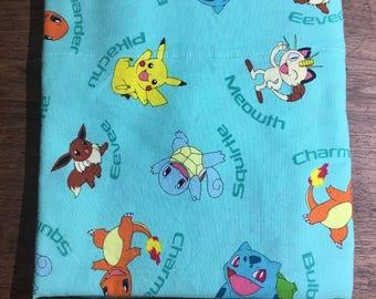 Pikachu & Friends Standard Size Pillow Case (1)