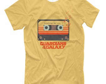 Guardians of the Galaxy, guardians of galaxy shirt, guardians galaxy t shirt, i am groot tshirt, Guardians of the Galaxy shirt, cassette