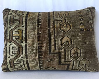 60x40 cm 24x16 inch,Kilim Pillow,Rug Pillow,Carpet Pillow,Moroccon Pillow,Accent Pillow,Handmade Pillow,Bench Pillow,Rug Cushion,Rug Pillows